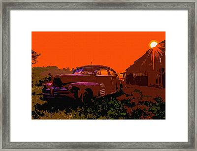 Rust In Peace 4 Framed Print by Brian Stevens