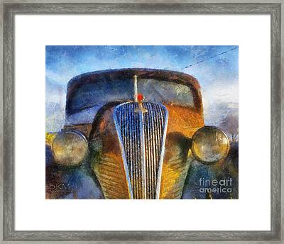 Rust In Peace Framed Print
