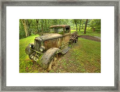 Rust In Peace Framed Print