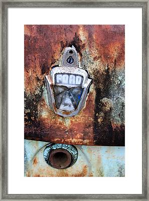 Rust In Peace. Framed Print by Ian  Ramsay