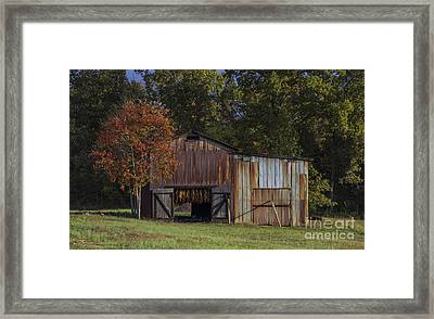 Rust Is Beautiful Framed Print