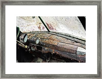Rust Framed Print