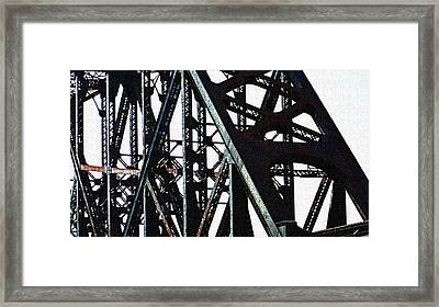 Rust Framed Print by Jenny Bowman