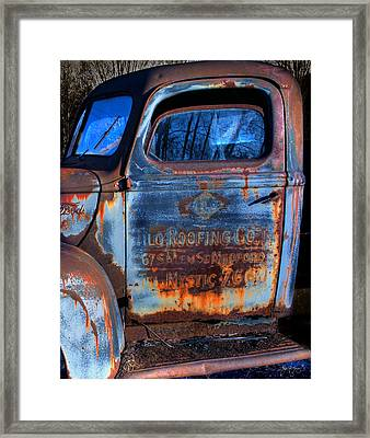 Rust Never Sleeps Framed Print by Wayne King