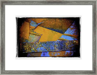 Framed Print featuring the photograph Rust Number 1 by Craig Perry-Ollila