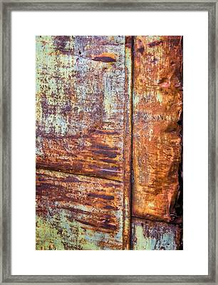 Rust Rules Framed Print by Steve Harrington