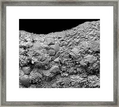 Rust Framed Print by Science Photo Library