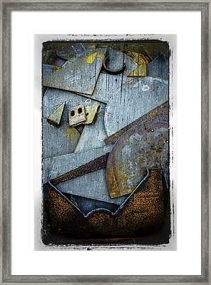 Framed Print featuring the photograph Rust Two by Craig Perry-Ollila