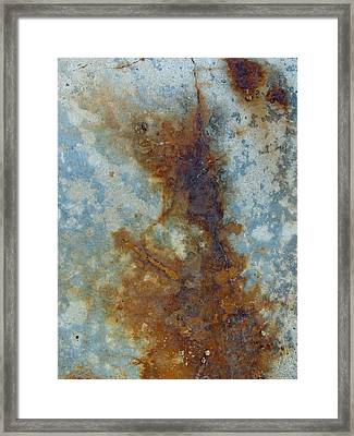 Rusted Abstraction 2 Framed Print