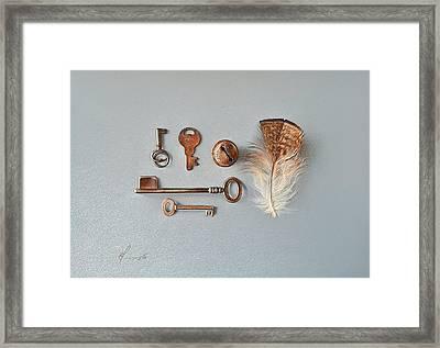 Rusted Framed Print by Elena Kolotusha