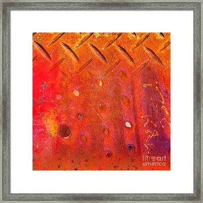 Rusted Glory 10 Framed Print