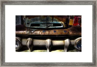 Rusted Framed Print by Kelly Gibson