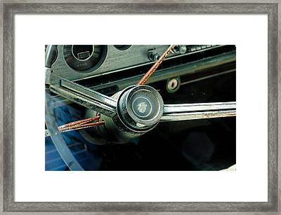 Framed Print featuring the photograph Rusted Mercury by Trever Miller