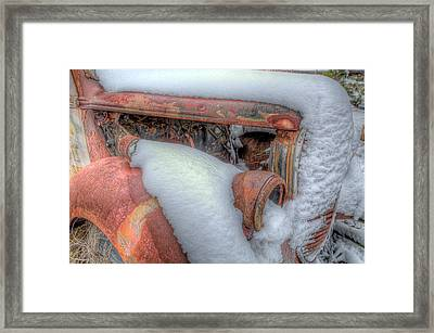 Framed Print featuring the photograph Rusted by Micah Goff
