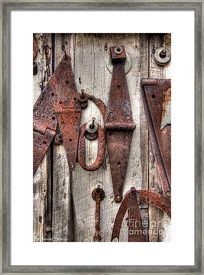 Rusted Past Framed Print by Benanne Stiens