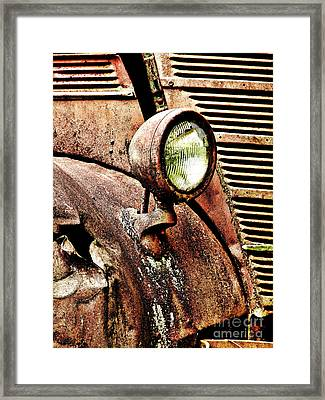 Rusted Framed Print by Ron Roberts