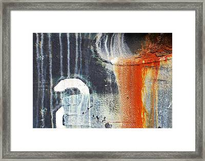 Rusted Waterfall Framed Print by Jani Freimann
