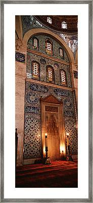 Rustem Pasa Mosque Istanbul Turkey Framed Print