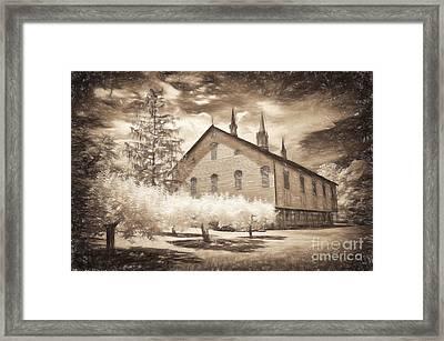 Rustic Barn Of Old Framed Print