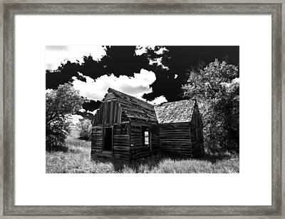 Rustic Barn Framed Print by Scott McGuire