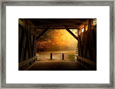 Rustic Beauty Framed Print