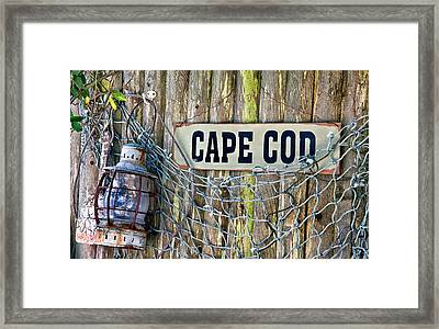 Rustic Cape Cod Framed Print by Bill Wakeley