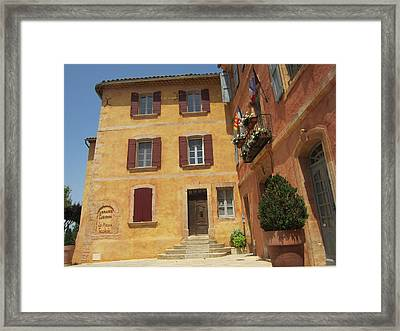 Framed Print featuring the photograph Rustic Charm by Pema Hou