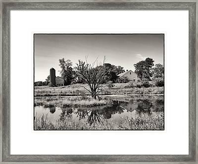 Rustic Charm Framed Print by Tom Druin