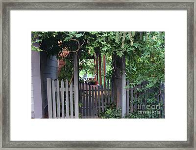Rustic Charm Framed Print by Yvonne Wright