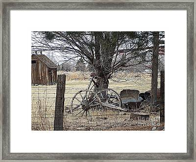 Rustic Days Gone By Framed Print
