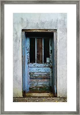 Rustic Door Framed Print
