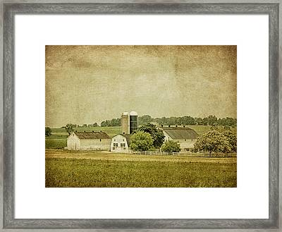 Rustic Farm - Barn Framed Print by Kim Hojnacki