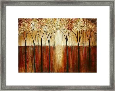 Rustic Forest Framed Print