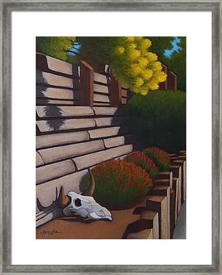 Rustic Garden Framed Print