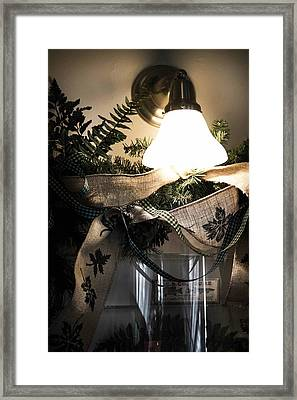 Rustic Holiday Framed Print by Patricia Babbitt