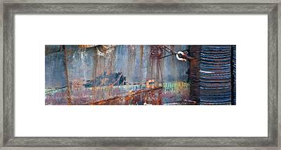 Rustic Hull 2 Framed Print by Jani Freimann