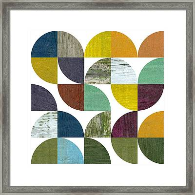Rustic Rounds 3.0 Framed Print