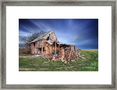 Rustic Ruin Framed Print by Shannon Rogers