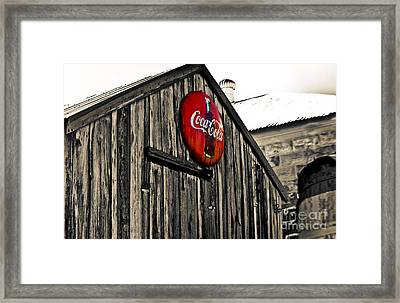 Rustic Framed Print by Scott Pellegrin
