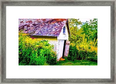 Rustic Shed 2 Framed Print