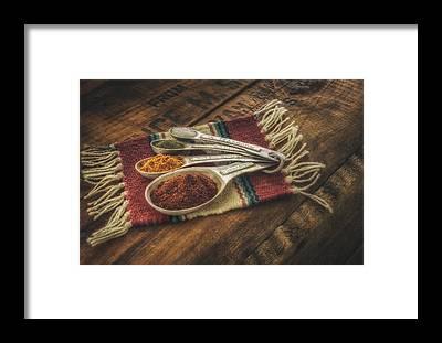 Spices Framed Prints