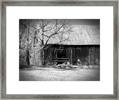 Rustic Tennessee Barn Framed Print by Phil Perkins