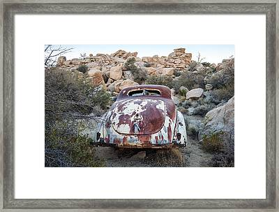 Rusting Away Framed Print