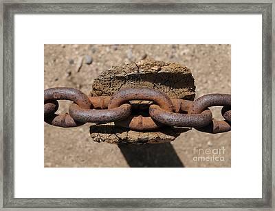 Rusting Resting Framed Print by Dan Holm