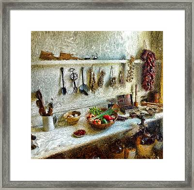 Rustique Framed Print by Cary Shapiro