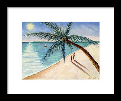 African Resort Framed Prints