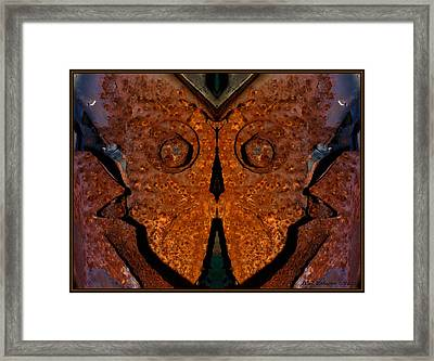 Rustmare Framed Print by WB Johnston