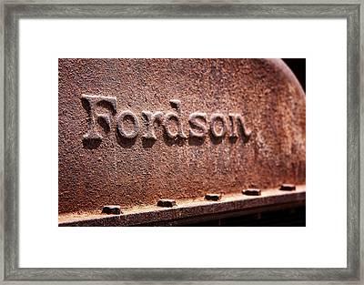Rustson Framed Print