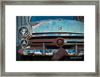 Rusty Blues Framed Print