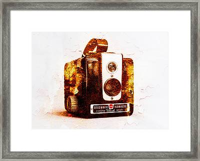 Rusty Brownie Framed Print